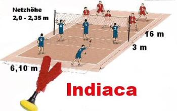 Indiaca Spiel